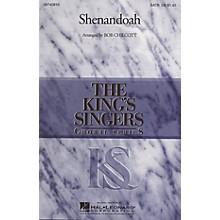 Hal Leonard Shenandoah SATB Divisi by The King's Singers arranged by Bob Chilcott