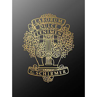 G. Schirmer Shenandoah TTBB Composed by Traditional Chantey
