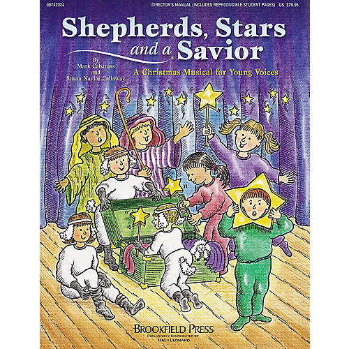 Hal Leonard Shepherd, Stars, and a Savior (Holiday Sacred Musical) PREV CD Composed by Mark Cabaniss