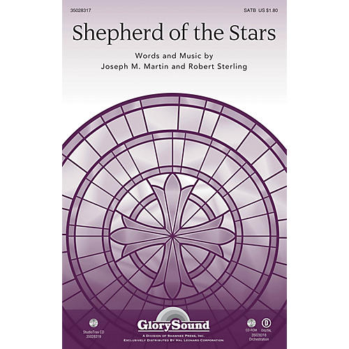 Shawnee Press Shepherd of the Stars Studiotrax CD Composed by Joseph M. Martin