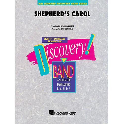 Hal Leonard Shepherd's Carol Concert Band Level 1.5 Arranged by Eric Osterling