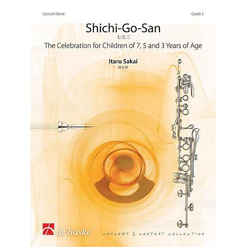 De Haske Music Shichi-Go-San Concert Band Level 5 Composed by Itaru Sakai