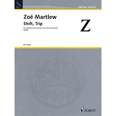 Schott Shift, Trip String Series Softcover with CD Composed by Zoë Martlew