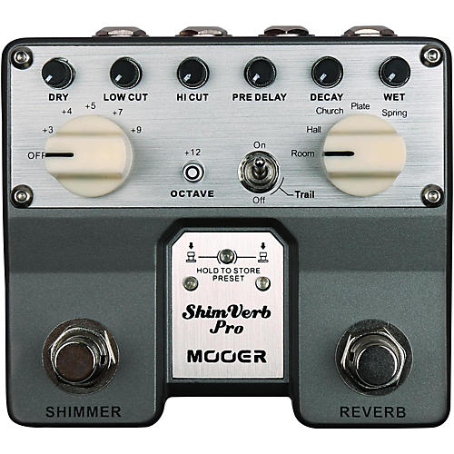 Mooer ShimVerb Pro Reverb Effects Pedal