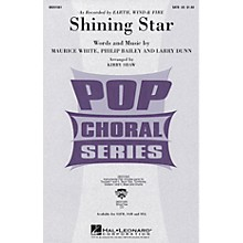 Hal Leonard Shining Star SAB by Earth, Wind & Fire Arranged by Kirby Shaw
