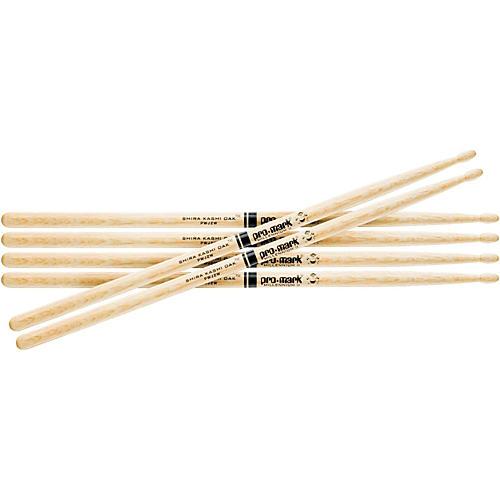 PROMARK Shira Kashi Oak 5A Wood Tip Drum Sticks, Buy Two Get One Free