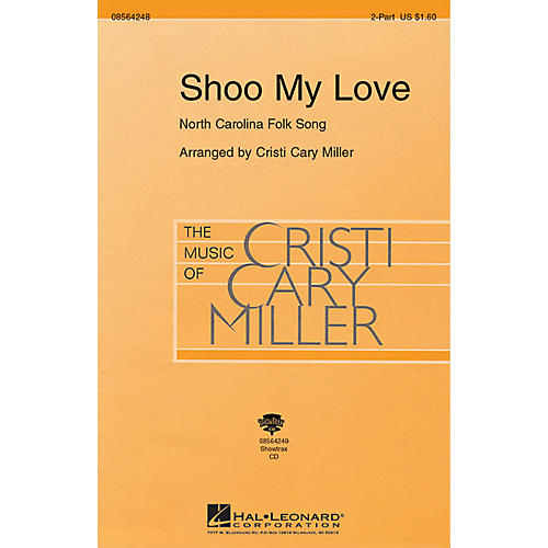 Hal Leonard Shoo My Love ShowTrax CD Arranged by Cristi Cary Miller