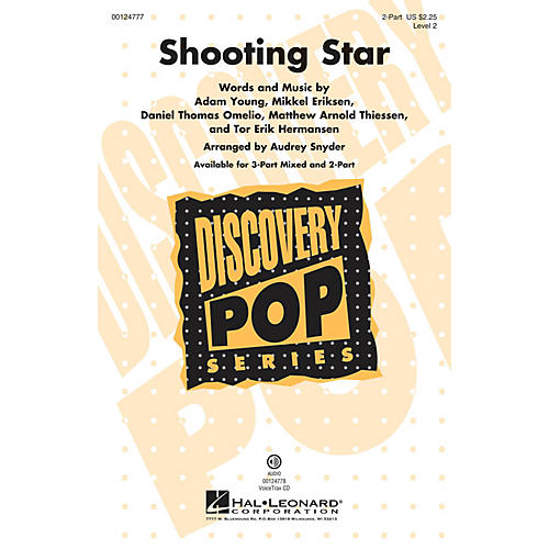 Hal Leonard Shooting Star (Discovery Level 2) 2-Part arranged by Audrey Snyder