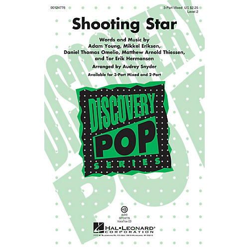 Hal Leonard Shooting Star (Discovery Level 2) 3-Part Mixed arranged by Audrey Snyder