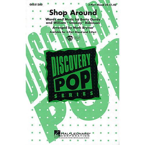 Hal Leonard Shop Around 3-Part Mixed arranged by Mark Brymer