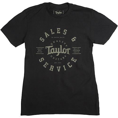 Taylor Shop Tee Large Black