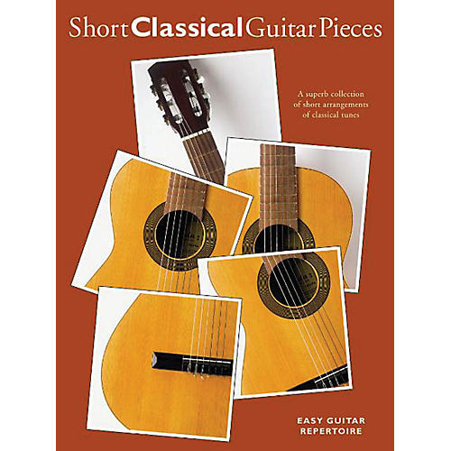 Music Sales Short Classical Guitar Pieces Music Sales America Series Softcover