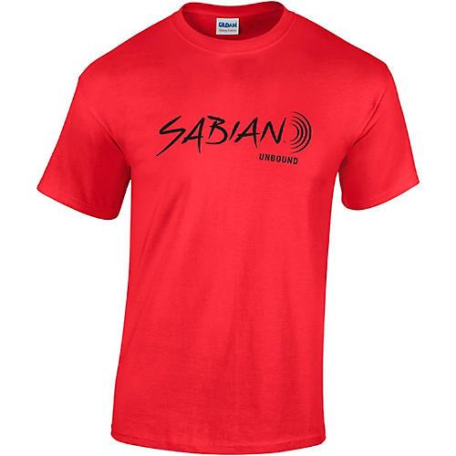 Sabian Short Sleeve Logo Tee Canvas Red XX Large