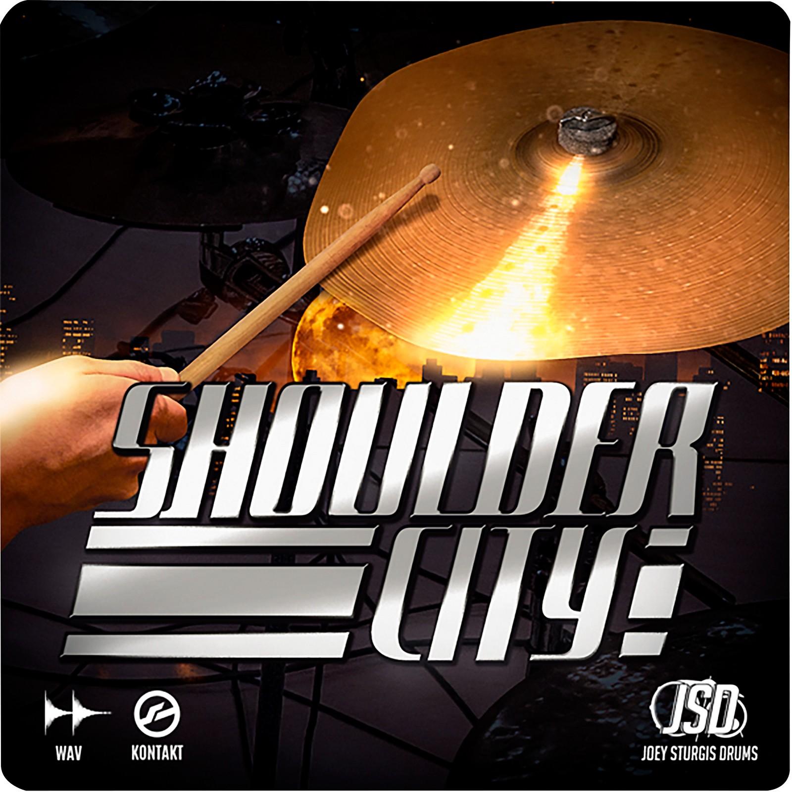 Joey Sturgis Drums Shoulder City Cymbals