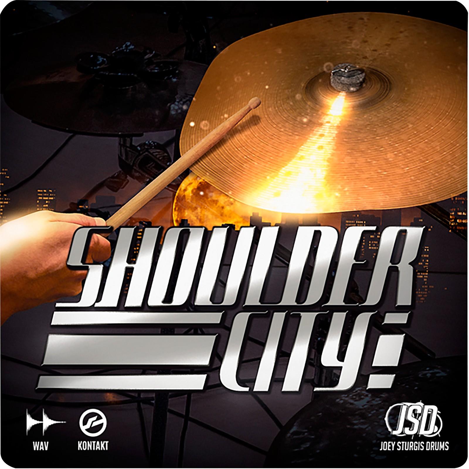 Joey Sturgis Drums Shoulder City Toms