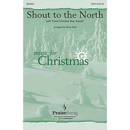 Hal Leonard Shout to the North CHOIRTRAX CD Arranged by Marty Parks