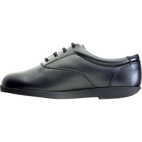 Director's Showcase Showstopper Black Marching Shoes - Wide