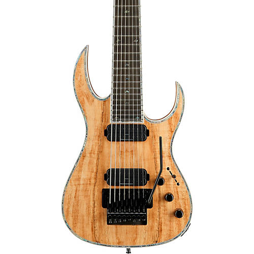 B.C. Rich Shredzilla 8 Prophecy Archtop with Floyd Rose Electric Guitar Spalted Maple