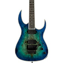 Shredzilla Prophecy Archtop with Floyd Rose Electric Guitar Cyan Blue