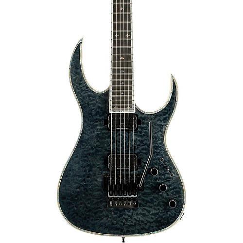 B.C. Rich Shredzilla Prophecy Archtop with Floyd Rose Electric Guitar Trans Black