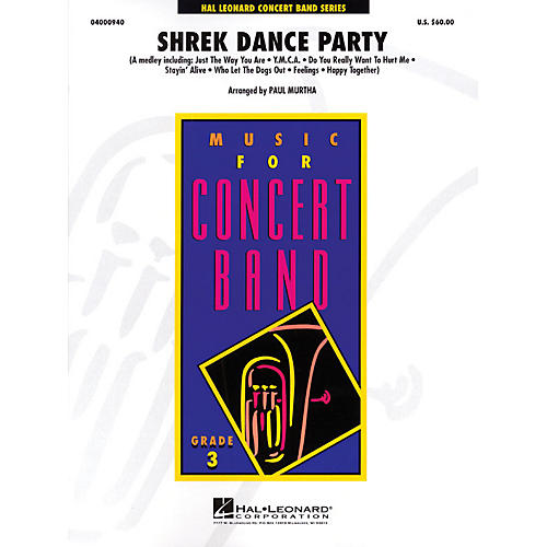Hal Leonard Shrek Dance Party - Young Concert Band Level 3 by Paul Murtha
