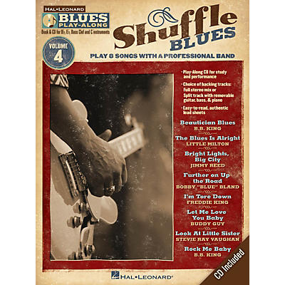 Hal Leonard Shuffle Blues (Blues Play-Along Volume 4) Blues Play-Along Series Softcover with CD Performed by Various