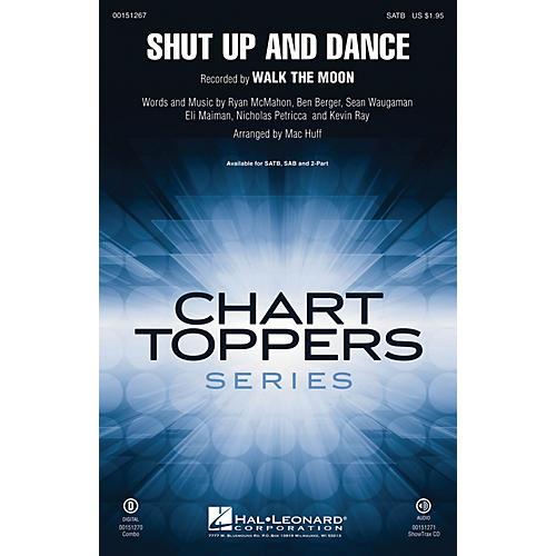 Hal Leonard Shut Up and Dance ShowTrax CD by Walk The Moon Arranged by Mac Huff