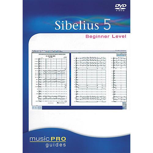Hal Leonard Sibelius 5 Beginner - Music Pro Series (DVD)