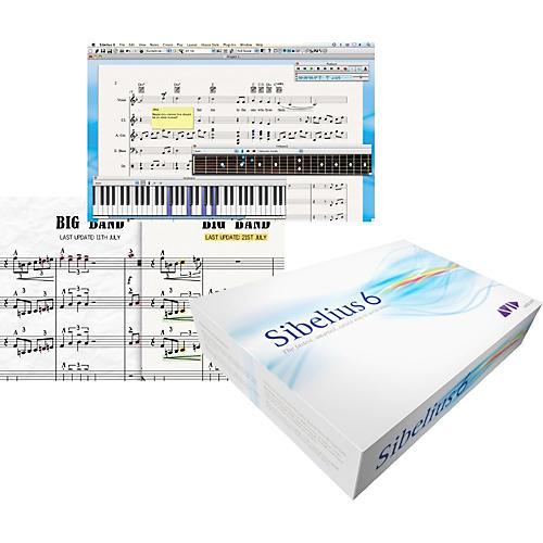 Sibelius Sibelius 6 Lab Pack & PhotoScore Ultimate 6