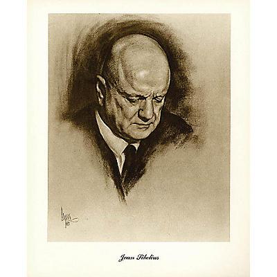 Music Sales Sibelius (Lupas Large Portrait Poster) Music Sales America Series