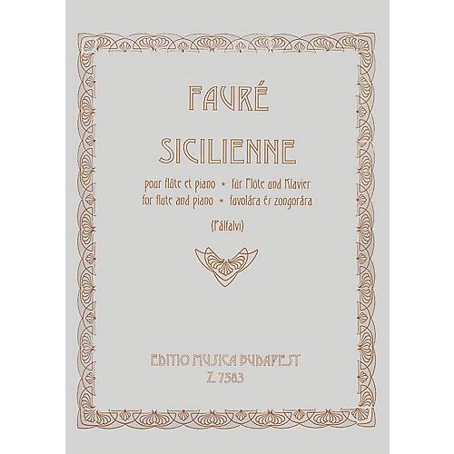 Editio Musica Budapest Sicilienne Op.78 EMB Series by Gabriel Fauré