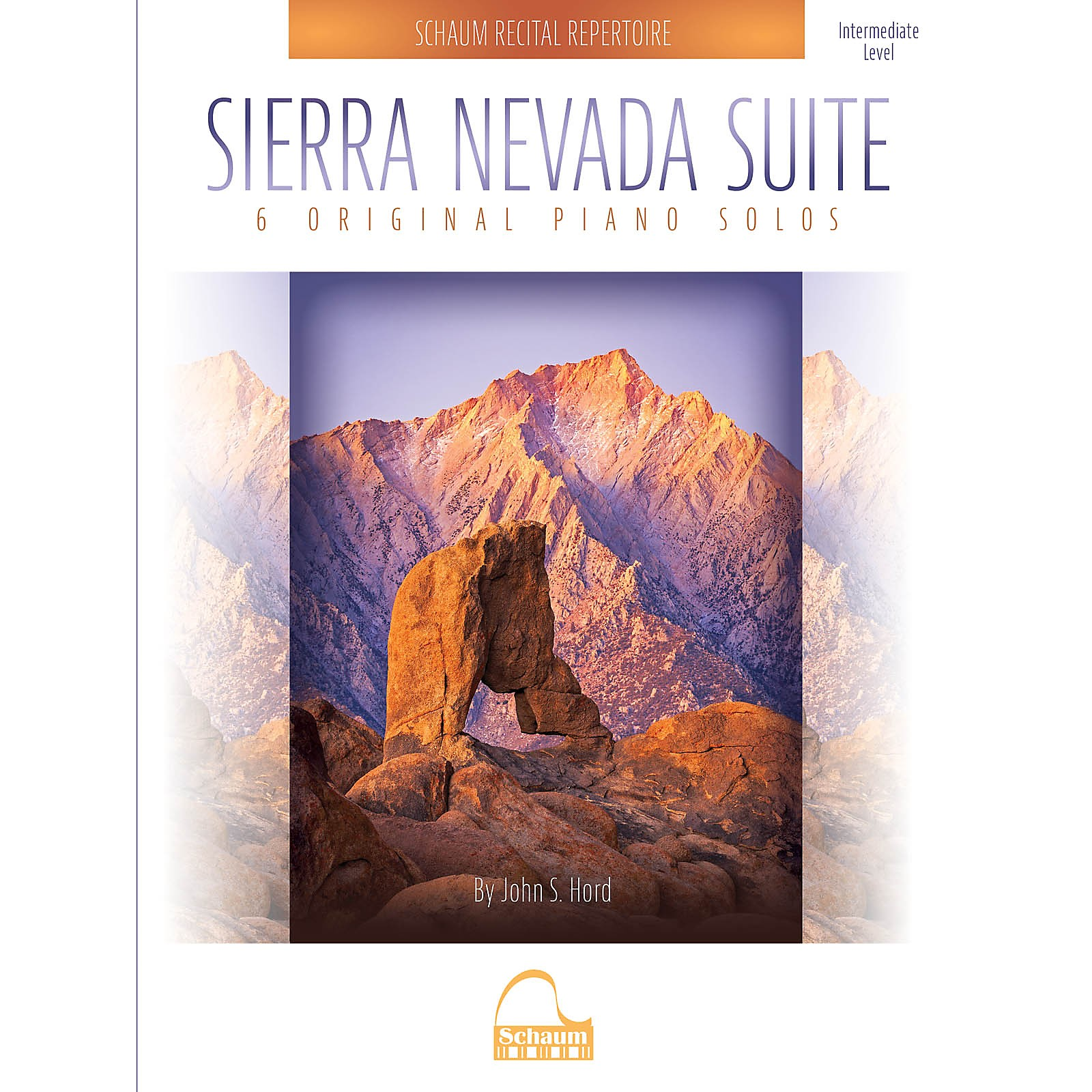 SCHAUM Sierra Nevada Suite Educational Piano Series Softcover Composed by John S. Hord
