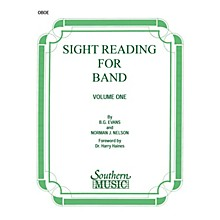 Southern Sight Reading for Band, Book 1 (Oboe) Southern Music Series by Billy Evans