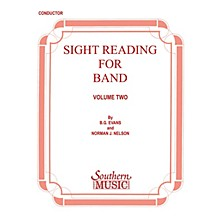 Southern Sight Reading for Band, Book 2 (Oboe) Southern Music Series by Billy Evans
