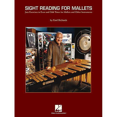 Hal Leonard Sight Reading for Mallets Percussion Series Softcover Written by Emil Richards