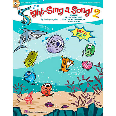 Hal Leonard Sight-Sing a Song! (Set 2) More Music Reading for the Elementary Classroom Book/CD