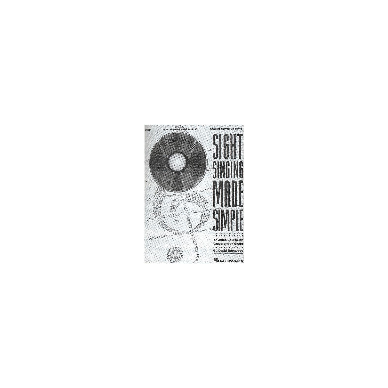 Hal Leonard Sight Singing CD Made Simple