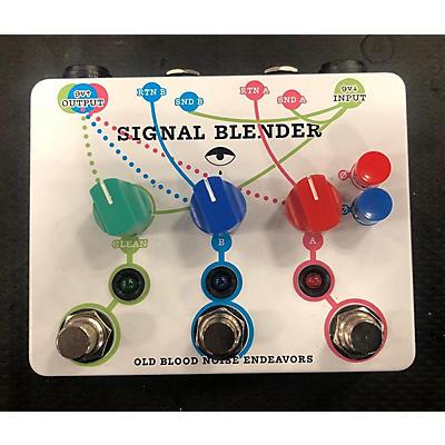 Old Blood Noise Endeavors Signal Blender Pedal