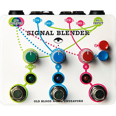 Old Blood Noise Endeavors Signal Blender Switching Effects Pedal