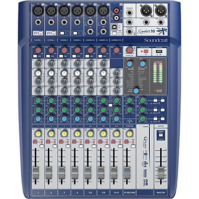 Soundcraft Signature 10 10-Input Analog Mixer