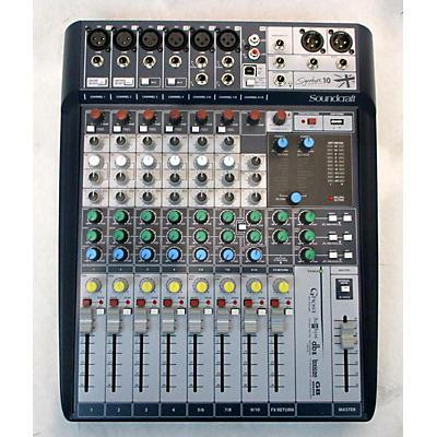 Soundcraft Signature 10 Powered Mixer