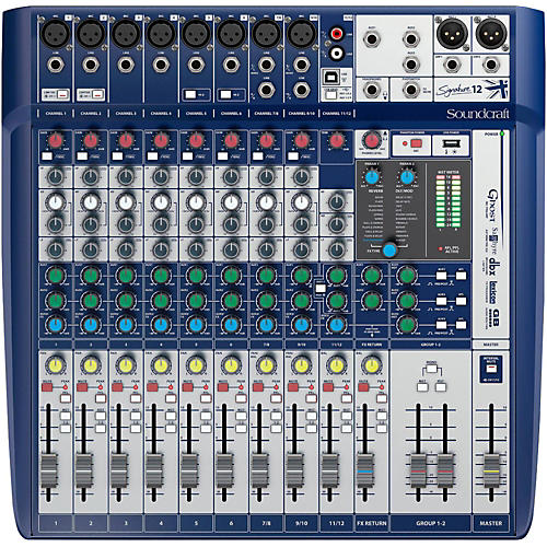 Soundcraft Signature 12 Analog Mixer Condition 1 - Mint