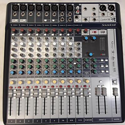 Soundcraft Signature 12 Powered Mixer