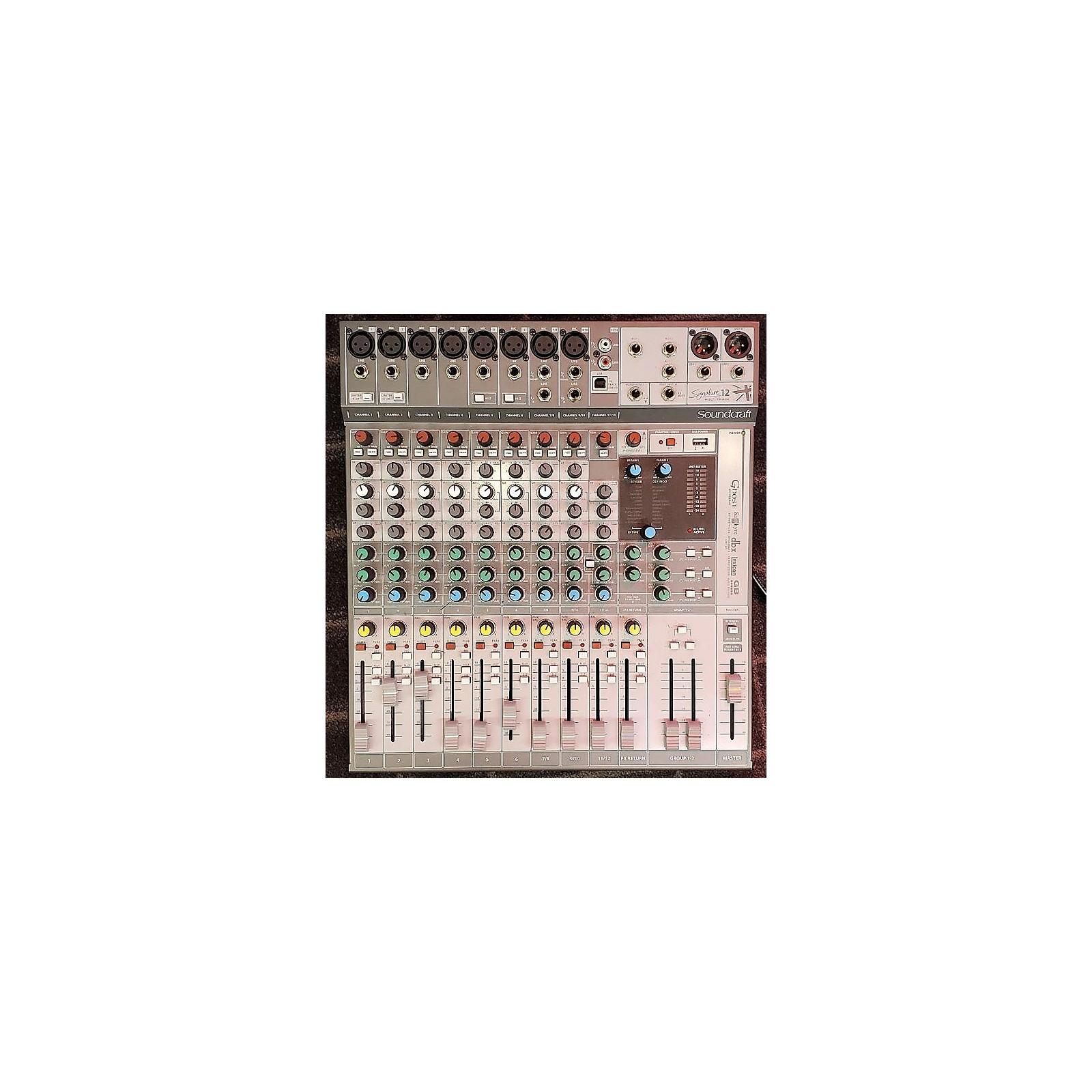 Soundcraft Signature 12MT Unpowered Mixer