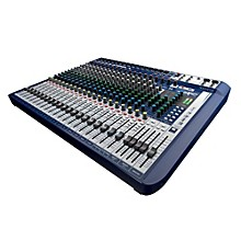 Open Box Soundcraft Signature 22 22-Input Analog Mixer with Effects