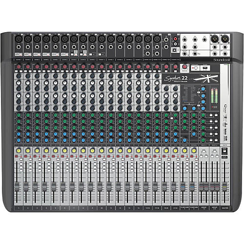 Soundcraft Signature 22MTK 22-Channel Multi-Track Mixer