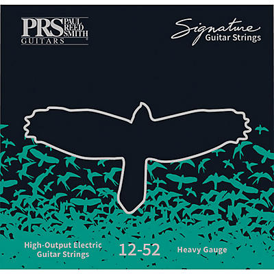 PRS Signature Electric Guitar Strings, Heavy (.012-.052)