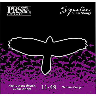PRS Signature Electric Guitar Strings, Medium (.011-.049)