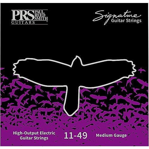PRS Signature Electric Guitar Strings, Medium (.011-.049)