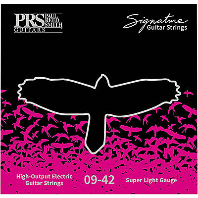 PRS Signature Electric Guitar Strings, Ultra Light (.009-.042)